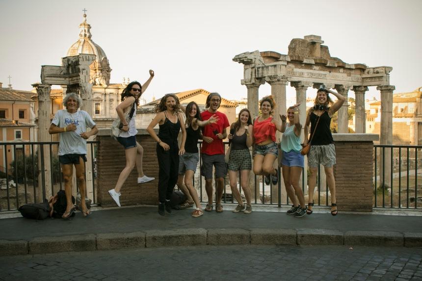 rome team jump
