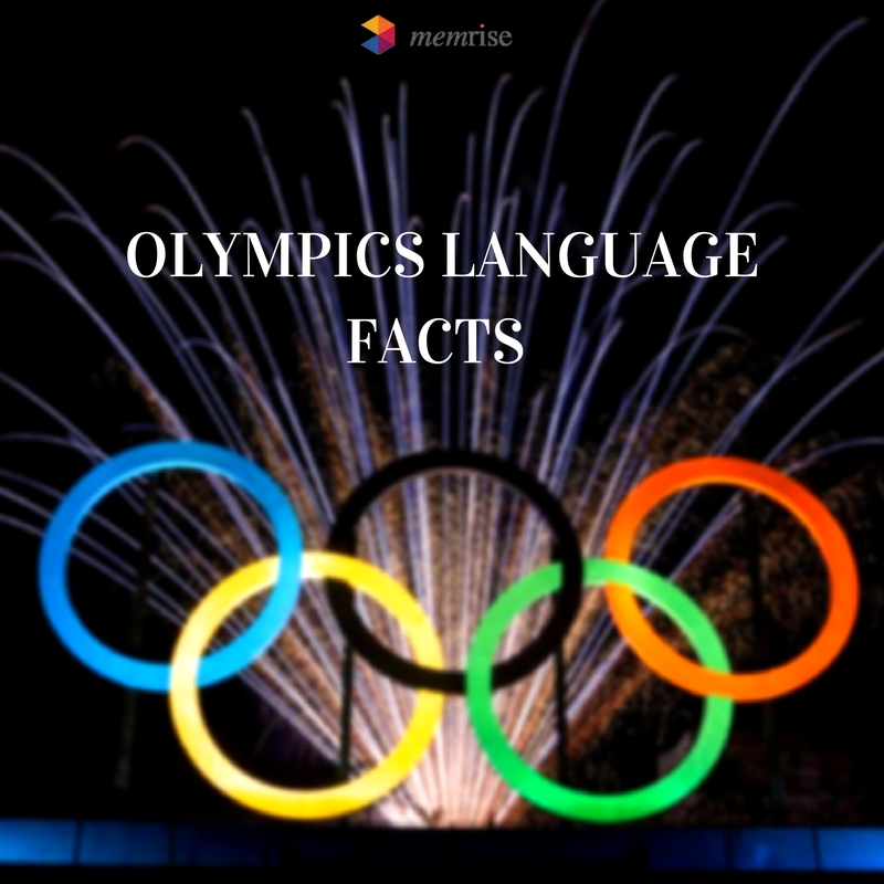 Olympic Language Facts