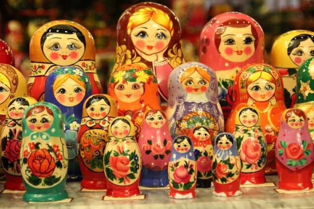 Moscow Russia Babuschka Doll Matruschka Matroschka